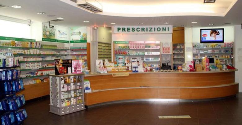 Interni della farmacia Basile di Ragusa