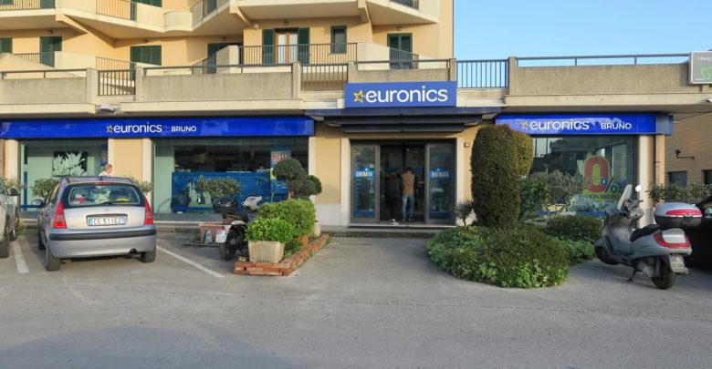 Il negozio d'elettronica Bruno Euronics di Modica