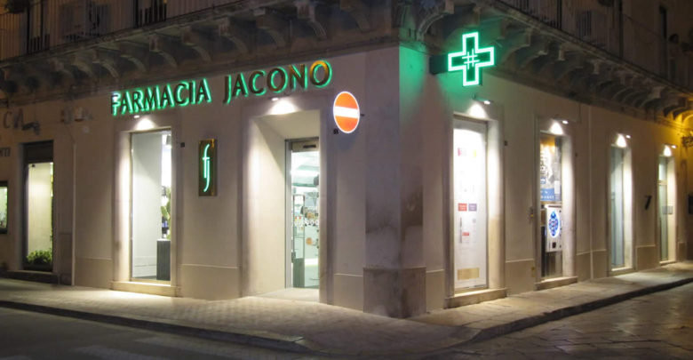 La Farmacia Jacono di Via Cavour a Vittoria