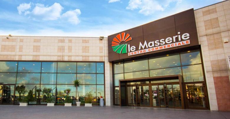 Il centro commerciale Le Masserie a Ragusa