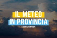 Photo of Il Meteo a Ragusa dal 23 al 25 ottobre