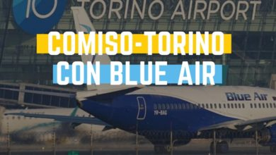 Photo of Comiso – Torino: nuova rotta di Blue Air