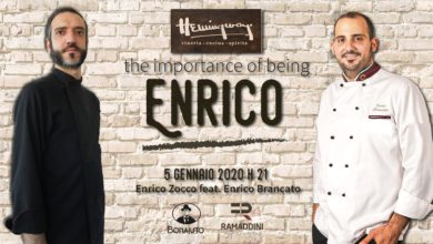 Photo of The importance of being Enrico