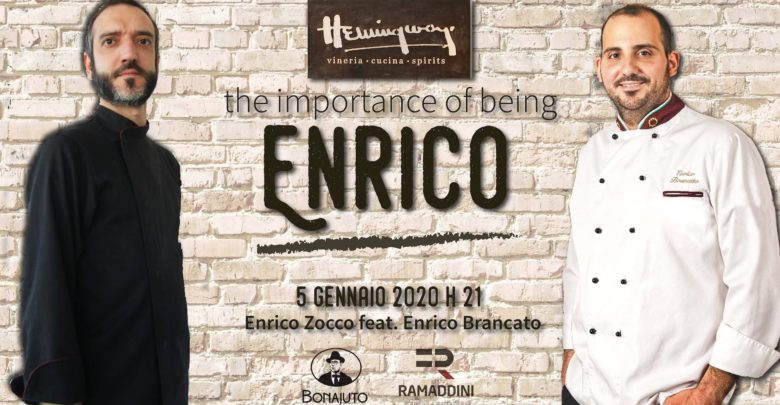 The importance of being Enrico all'Hemingway di Modica