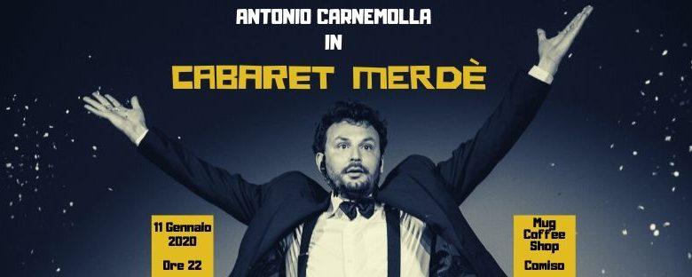 Serata di Cabaret con Antonio Carnemolla a Comiso