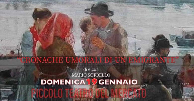 Spettacolo teatrale Cronache umorali di un emigrante a Ragusa Ibla