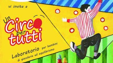 Il laboratorio di giocoleria per bambini a Modica