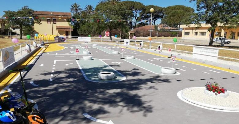 Inaugurazione pista del parco sulla sicurezza stradale