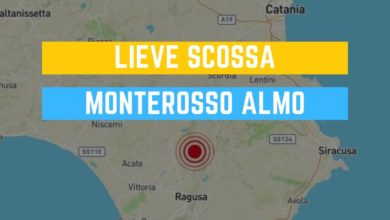 Photo of Lieve scossa a Monterosso Almo